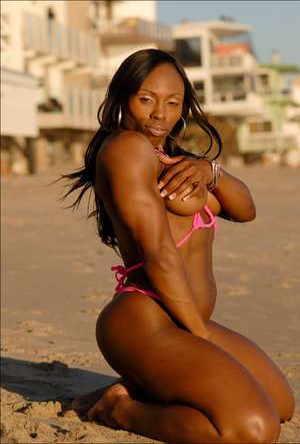 Beach Ebony Pussy Porn