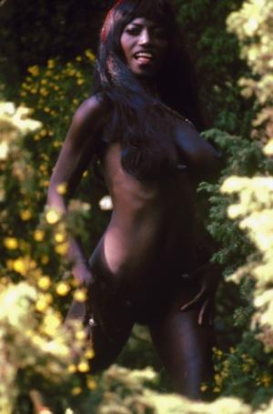 Vintage Ebony Pussy Porn