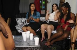 Ebony Pussy Party Porn